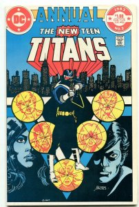 NEW TEEN TITANS ANNUAL #2 comic book 1983-1st VIGILANTE- DC vf