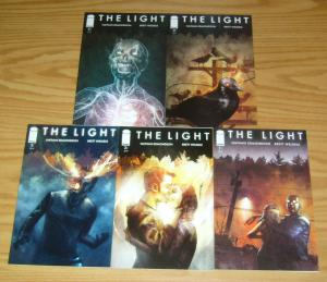 the Light #1-5 VF/NM complete series NATHAN EDMONDSON horror image comics 2 3 4