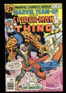 Marvel Team-up #47 NM 9.4 Comics Spider-Man Thing!