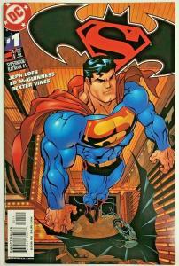 SUPERMAN & BATMAN#1 NM 2003 SUPERMAN COVER DC COMICS