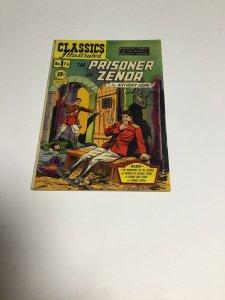 CLASSICS ILLUSTRATED #76 PRISONER Zenda Fine Fn 6.0