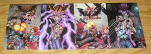 777: the Wrath #1-3 VF/NM complete series + variant - tim vigil - avatar press