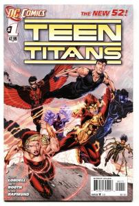 TEEN TITANS #1 2011-comic book-NEW 52-EARLY ISSUE-VF/NM