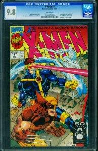X-Men #1 CGC Graded 9.8 1991 Wolverine cover 0138151005