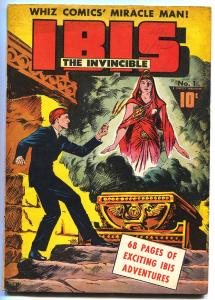 IBIS THE INVINCIBLE #1-1943-RABOY-FAWCETT-ORIGIN-GOLDEN-AGE