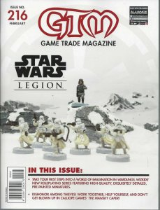 Game Trade Magazine #216 VF/NM; Alliance | save on shipping - details inside