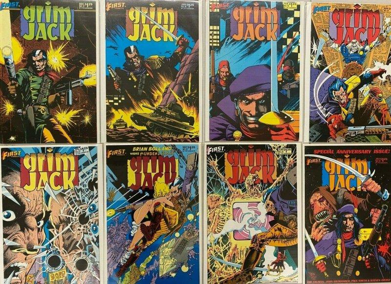 Outsiders full set#1-24+variant 25 difference avg 8.5 VF+ (1993-95)