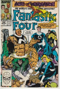 Fantastic Four(vol. 1) # 335  ACTS OF VENGEANCE !