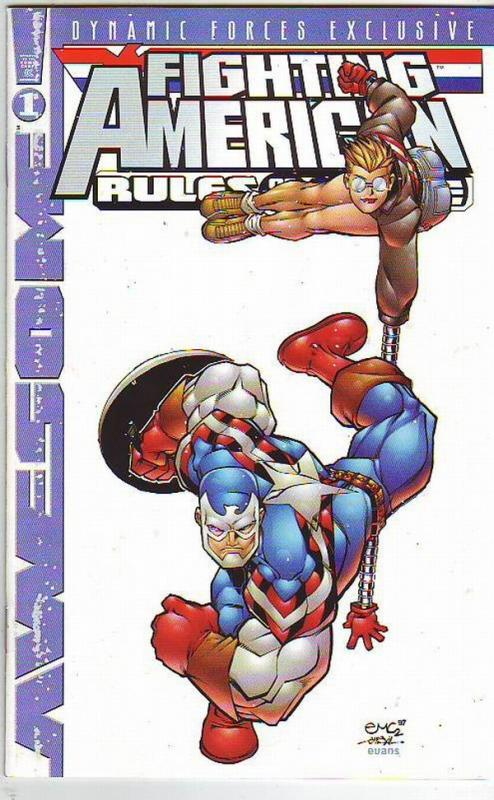Fighting American Rules of the game #1 (Nov-97) VF- High-Grade Fighting American