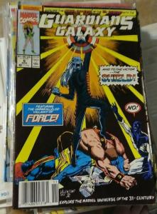 Guardians of the Galaxy # 6  1991 marvel search for the shield pt 6 + the force