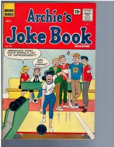 Archie's Joke Book Magazine #74 (1963) FN+