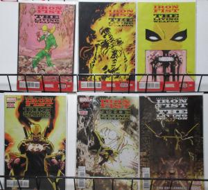 Iron Fist- the Living Weapon #7-12 by Kaare Andrews Martial Arts Comic!