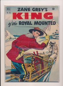 DELL Comics Zane Grey's KING of the Royal Mounted #363 VG/FN 1951 (B21)