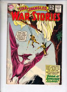 Star Spangled War Stories #103 (Jul-62) VF+ High-Grade Dinosaur