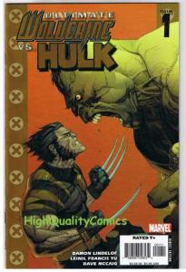 ULTIMATE WOLVERINE vs HULK #1 2 3 4 5, NM-, Claws vs Brawn, 2006, 1-6 Issues