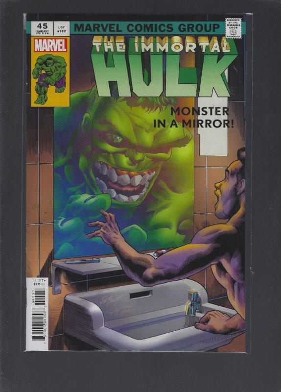 Immortal Hulk #45 Variant