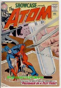 SHOWCASE #36,  VG/VG+, 3rd Atom, Gil Kane, Prisoner, 1962, Silver age