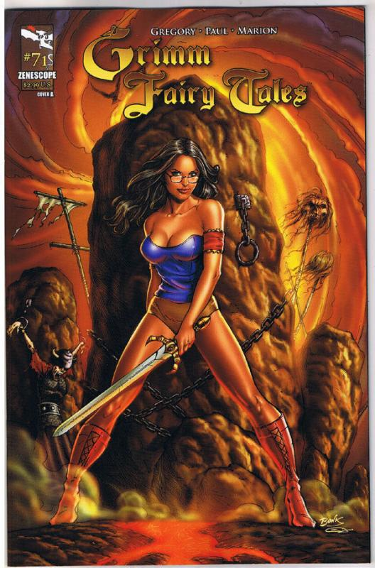 GRIMM FAIRY TALES #71 A, NM-, 2005, 1st, Good girl, Witch, more indies in store