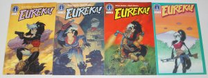 Eureka! #1-4 VF/NM complete series - radio comix - anthropomorphics set 2 3 lot