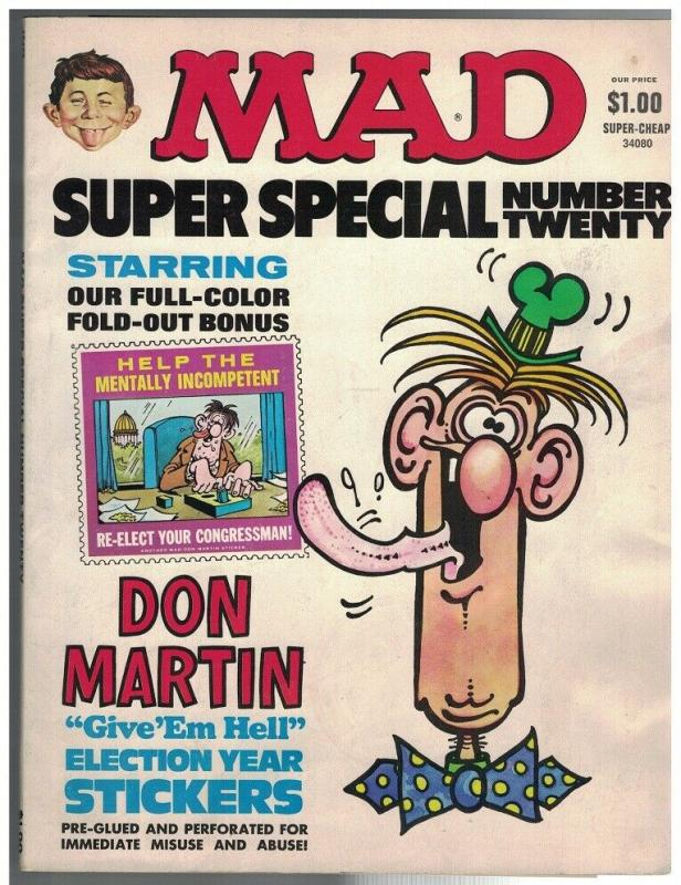 MAD SPECIAL (1970-    ) 20 GD+