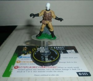Johann Kraus 005 Heroclix Horrorclix Hellboy and the BPRD
