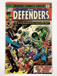 DEFENDERS 23 VG COMICS BOOK