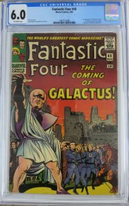 FANTASTIC FOUR #48 (Marvel,3/1966) CGC 6.0 1st Silver Surfer & Galactus!