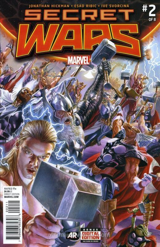 Secret Wars #2 VF/NM; Marvel | save on shipping - details inside