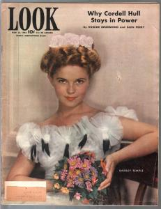 Look 11/16/1943-Shirley Temple-James Cagney-WWII-Cronkite-VG/FN