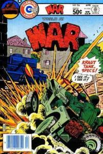 War #26 FN; Charlton   save on shipping - details inside