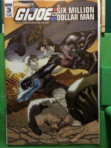 G.I. Joe vs The Six Million Dollar Man #3 cover A