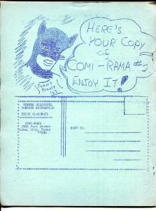 Comi-rama #2 RARE COMIC FANZINE! 1963-Johnny Quick-Super Chief FN