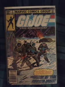 G I Joe A real American Hero #2 NM Newsstand Edition