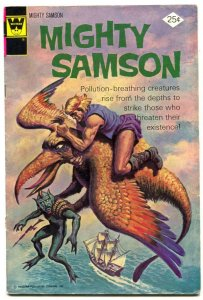 Mighty Samson #26 1974- Whitman comics VG