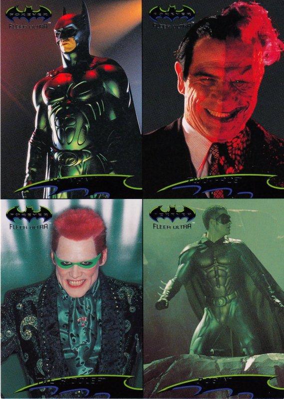 Batman Forever Promotional Uncut Sheet