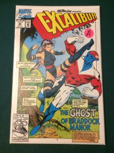 Excalibur #55 The Ghost of Braddock Manor