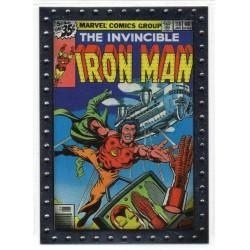 2010 Upper Deck Iron Man 2 Movie Classic Comic Covers IRON MAN #118 CC7