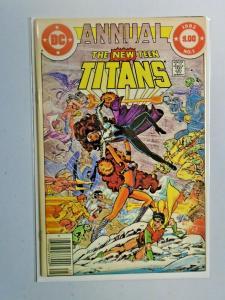 New Teen Titans #1 Annual 8.0 VF (1982)