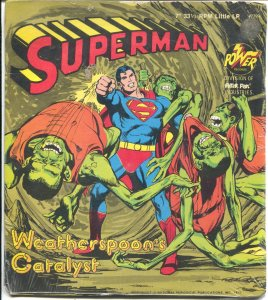 Superman 33 1/3 Record -7-Neal Adams #2299 1975-Weatherspoon's Catalyst-FN