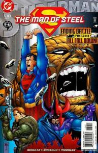 Superman: The Man of Steel #130, NM + (Stock photo)