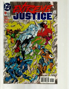 12 DC Comic Books Extreme Justice # 0 Fate # 0 1 2 3 4 5 6 7 8 9 11 GK56