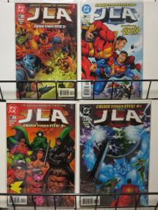 JLA (1997) 28-31  Crisis Times Five  JSA apps! COMICS BOOK