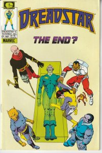 Dreadstar(Epic)# 15 Thanos creator Jim Starlin's Space Opera