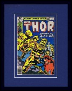 1979 Thor #283 Framed ORIGINAL Vintage 11x14 Cover Display Marvel Celestials