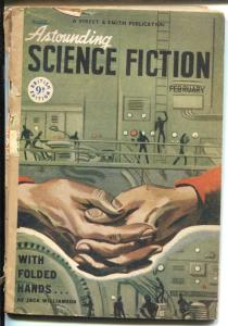 Astounding Science Fiction 2/1948-British edition-Isaac Asimov-Poul Anderson-G