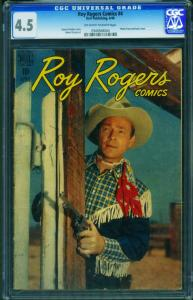 Roy Rogers #4 CGC 4.5 1948-Dell-photo covers- 0940568004