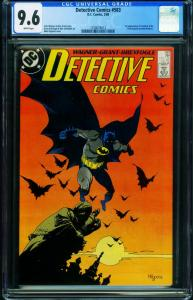 Detective Comics #583 CGC 9.6 1988-1st SCARFACE and VENTRILOQUIST 1256074012