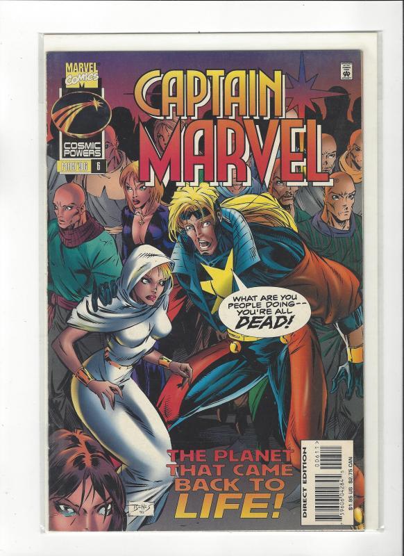 Captain Marvel #6 (1995) Marvel Comics NM
