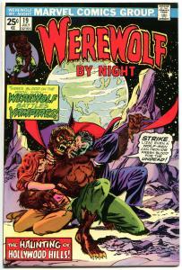 WEREWOLF by NIGHT #19, VF+, Wolf, Don Perlin, Vampires, 1972, more WW in store