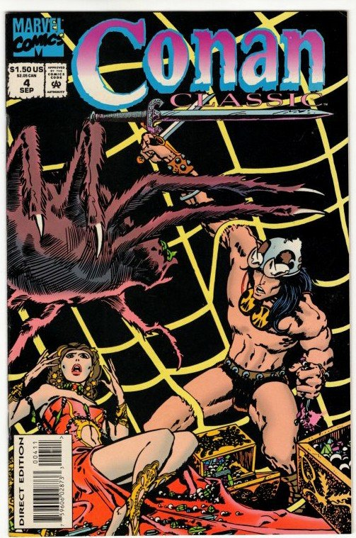CONAN CLASSIC #4 (VF+) Barry Smith 1¢ Auction! No Resv! See More!!!